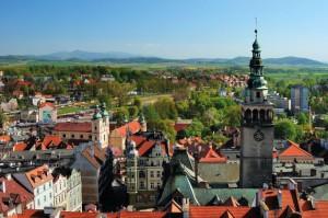 z13214623V,Klodzko-stare-miasto--Panorama-Klodzka-widziana-od