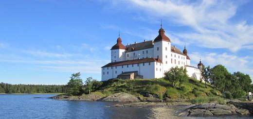 Läckö_Slott замок Леке Швеция